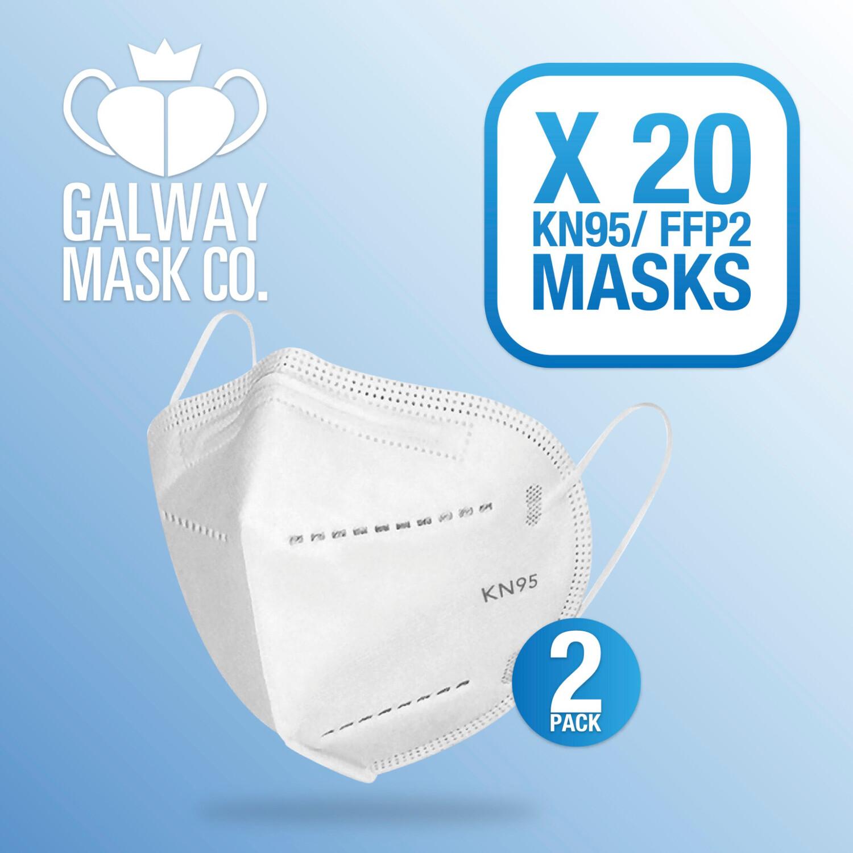 20 X FFP2 Mask.  €1.30 Each