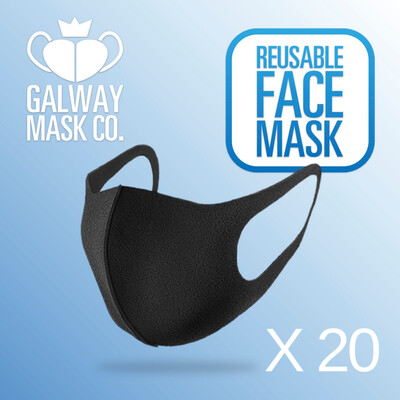 20 X Resuseable Face Masks                    €4.59 Each