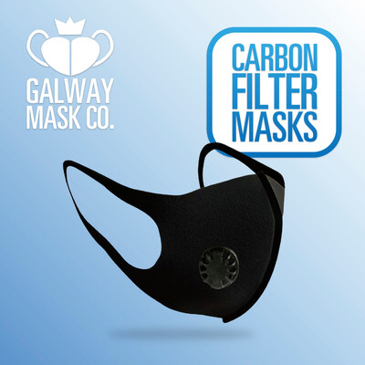 100 X Resuseable Carbon Filter Face Masks                    €1 Each