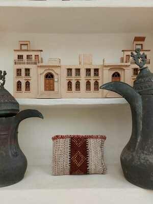 Sadu Hand Bag Al Midkhar Pattern