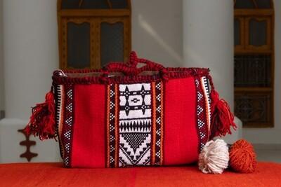Sadu Hand Bag Al Shajarah + Al Oweirjan Pattern