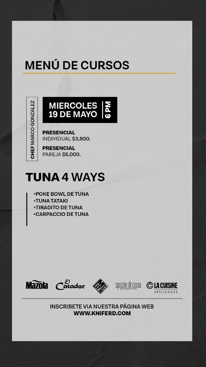 Tuna 4 Ways