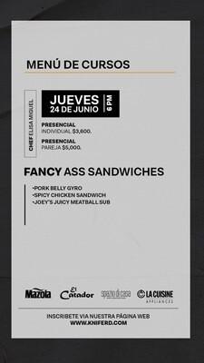 Fancy Ass Sandwiches
