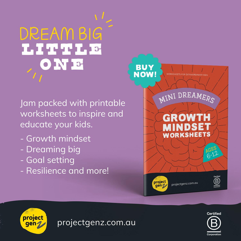 Mini Dreamers Growth mindset bundle Age 5-10