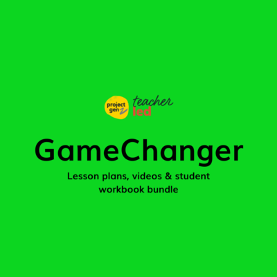 Game Changers bundle Age 12-17