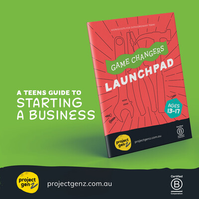 Launchpad- a teens online guide to starting a business Age 12-17