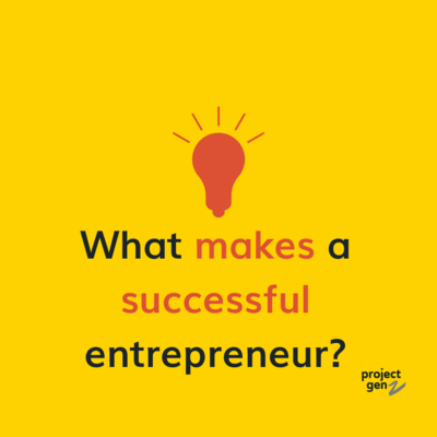 Free download - What makes a successful Entrepreneur Age 8+