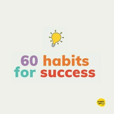 Free download - 60 habits for success
