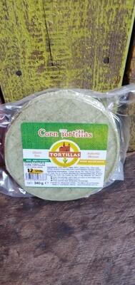 Green Cactus & Corn Tortilla