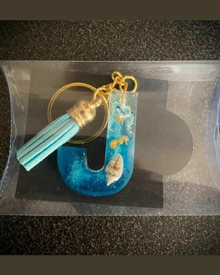 Resin Keyrings