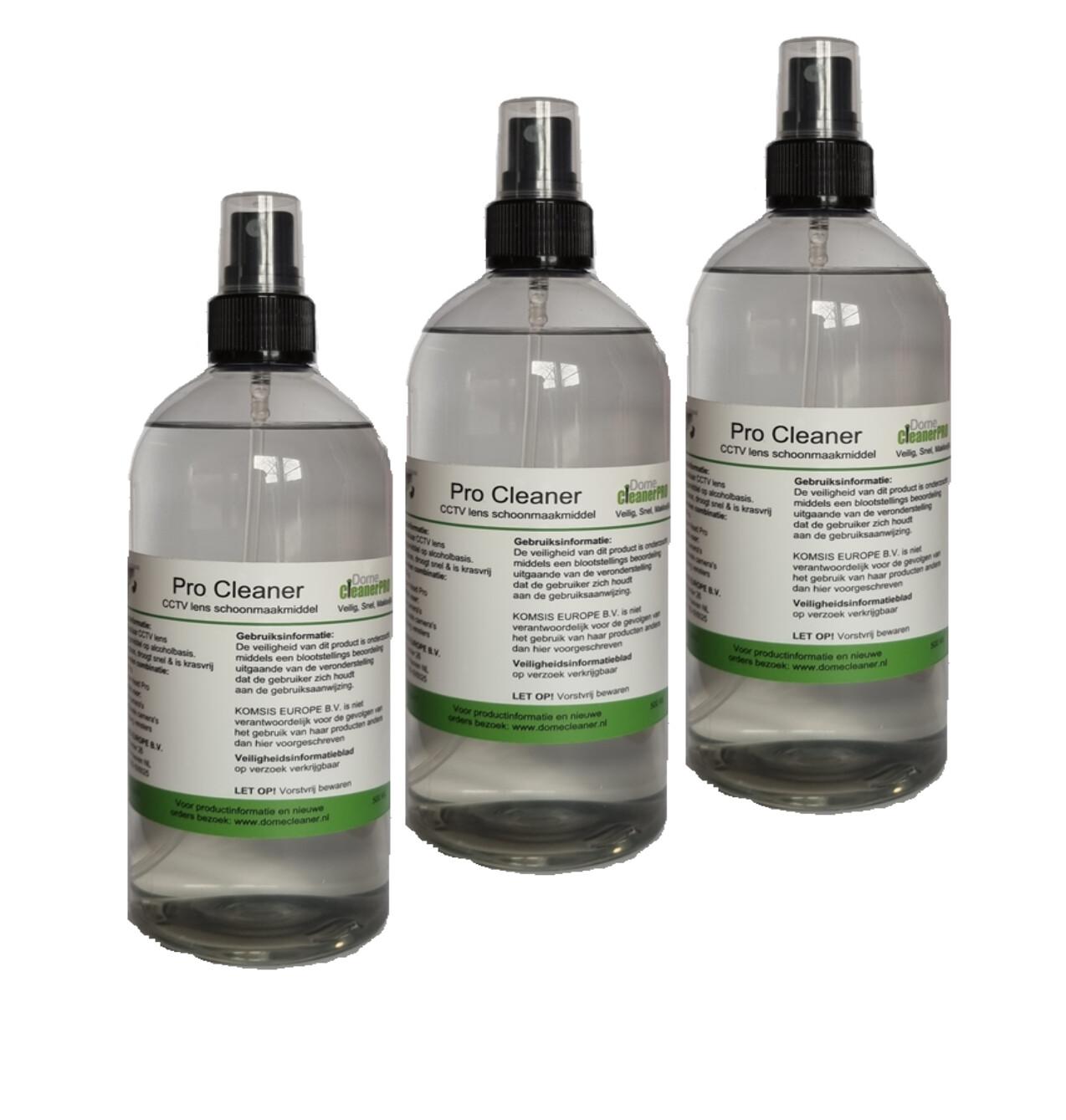 Pro Cleaner Schoonmaak middel 3 pack 500ML