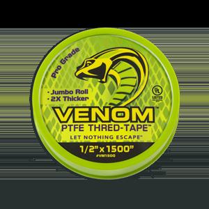 """VENOM™ PTFE Thred-Tape™ 1/2"""" x 1500"""""""