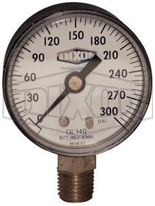 Dixon ABS Standard Dry Gauge Lower Mount GL130
