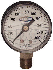 Dixon ABS Standard Dry Gauge Lower Mount GL320