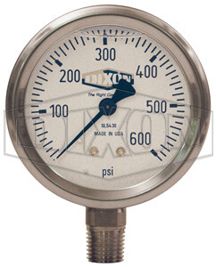 Dixon ABS Standard Dry Gauge Lower Mount GL300