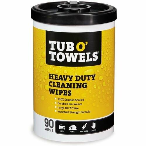 Tub O Towels 90-Count Heavy Duty