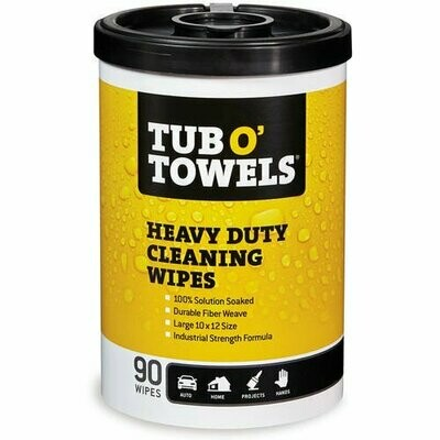Tub O Towels 90-Count Heavy Duty