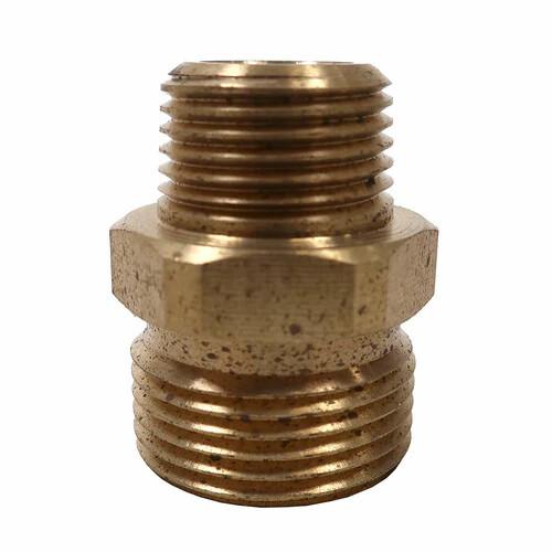 "3/8"" Male Suttner ST-41 Brass Screw Nipple"