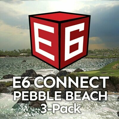 E6 Connect Pebble Beach 3-Pack