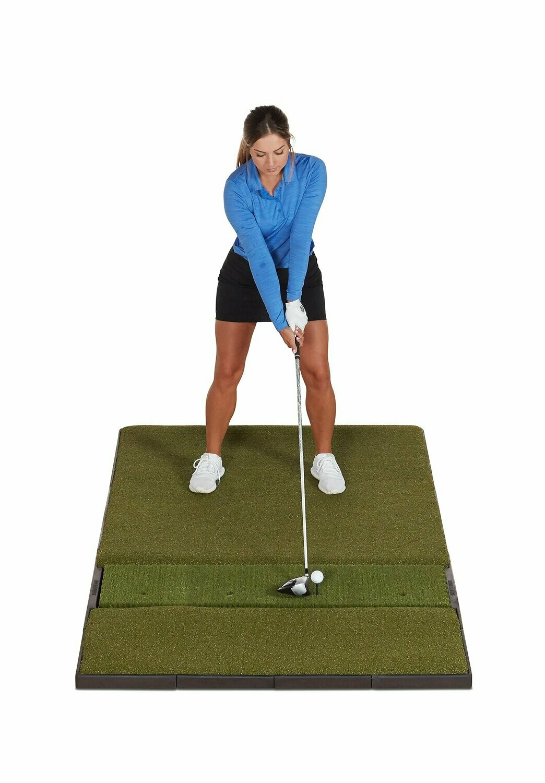 Fiberbuilt Studio Golf Mat, Single Hitting, 7' x 4'
