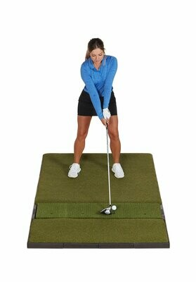 Fiberbuilt Studio Golf Mat, Single Hitting, 7' x 4'