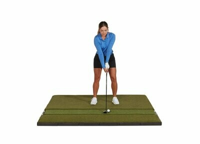 Fiberbuilt Studio Golf Mat, Single Hitting, 7' x 6'