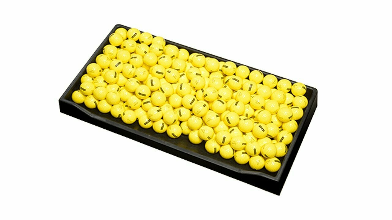 Fiberbuilt Rectangular Rubber Ball Tray