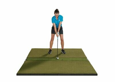 Fiberbuilt Studio Golf Mat, Center Hitting, 9' x 6'