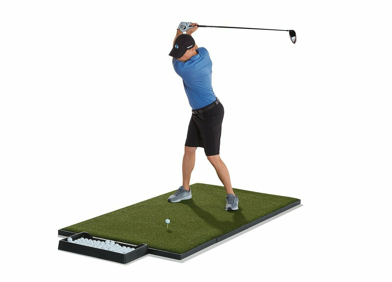 Fiberbuilt Rectangular Performance Turf Tee Box