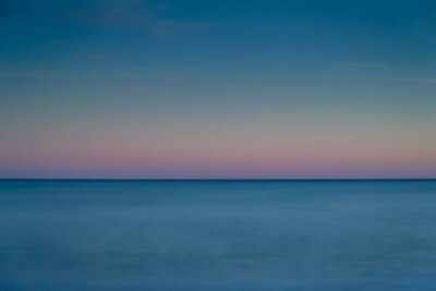 Talisker Bay, blue & pink
