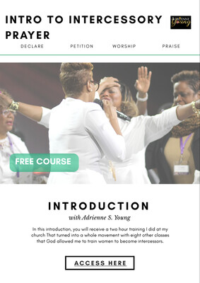 FREE Introduction to Intercessory Prayer Course