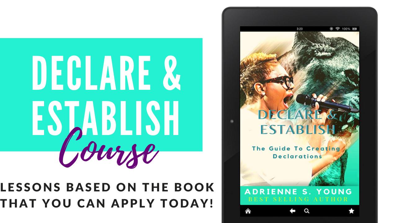 Declare & Establish Course Only! FREE Bonus Download!