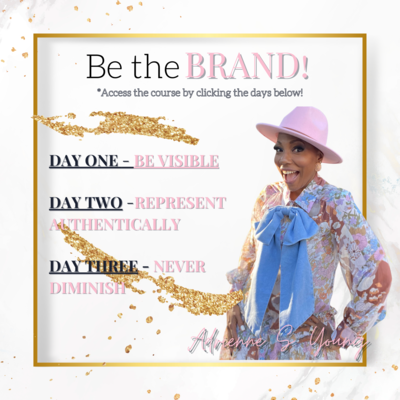 Be the BRAND Challenge Course