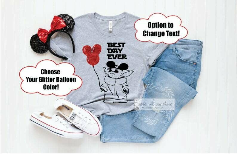 BEST DAY EVER Shirt, Baby Alien Best Day Ever, Disney Matching Shirts, Disney Family Shirts, Disney Vacation Tee, Best Day Ever