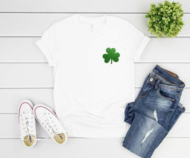 Saint Patricks Day Shirt, Matching St. Patrick's Day Shirts, St. Patricks Day Shirt Women, Four Leaf Clover Shirt, St. Patty's Day Shirt