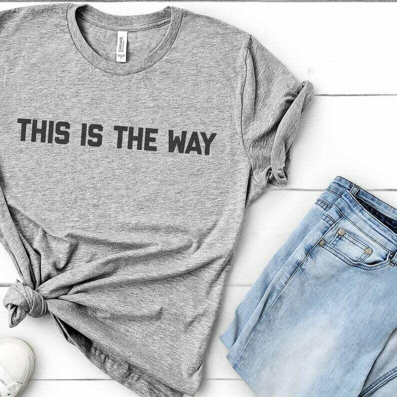 Baby Yoda Shirt, Mandalorian Shirt, The Mandalorian, bounty hunter