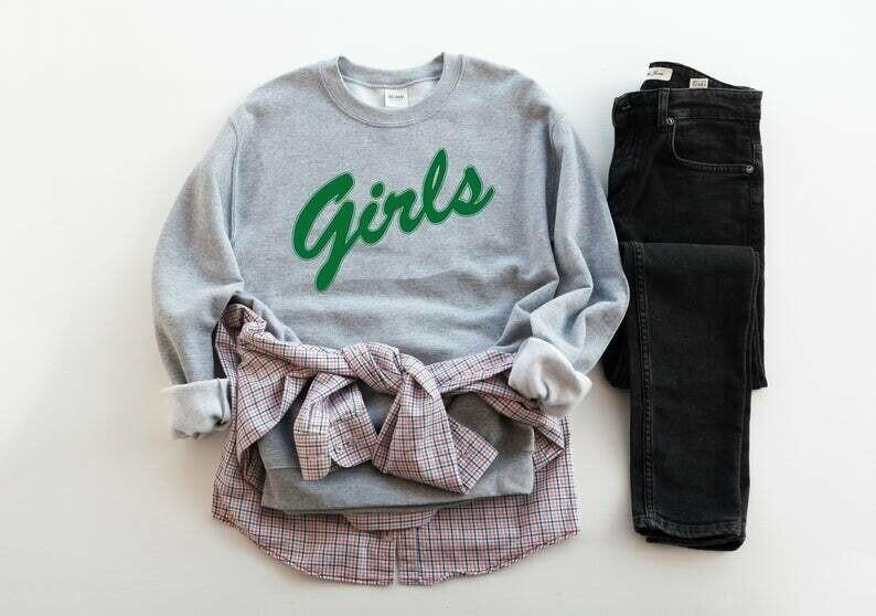 Girls Sweatshirt , Friends Tv Show , Friends Girls Sweatshirt , Girls Crewneck Sweatshirt, Friends T Shirt, Jennifer Aniston ,Courteney Cox