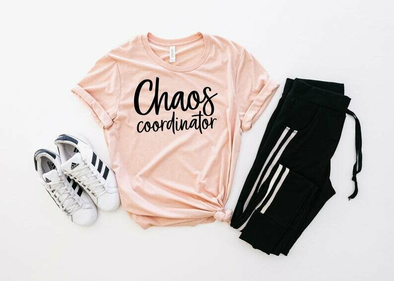 Chaos Coordinator, Chaos Coordinator Shirt, Chaos Coordinator T-Shirt, Teacher Shirt, Chaos Shirt , Chaos Tee, Funny Chaos, Mothers Day Gift