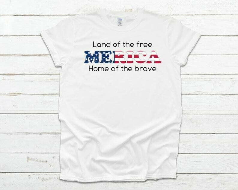 Merica Shirt | 4th of July Shirt | Merica T Shirt | Merica | 4th of July T Shirt