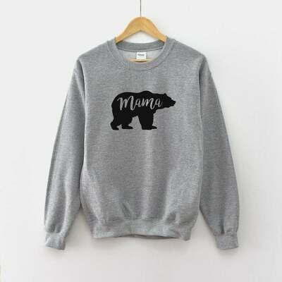 Mama Bear Sweatshirt | Mama Bear Shirt - Mama Shirt - Shirt For Mom - Mama Bear