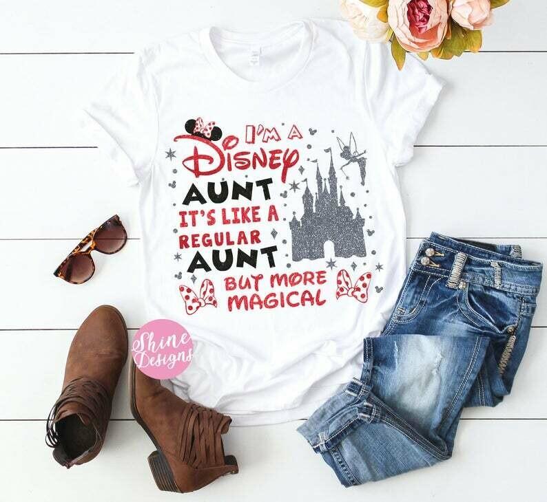 Aunt Shirt, Magical Aunt Shirt, Mother's Day Shirt