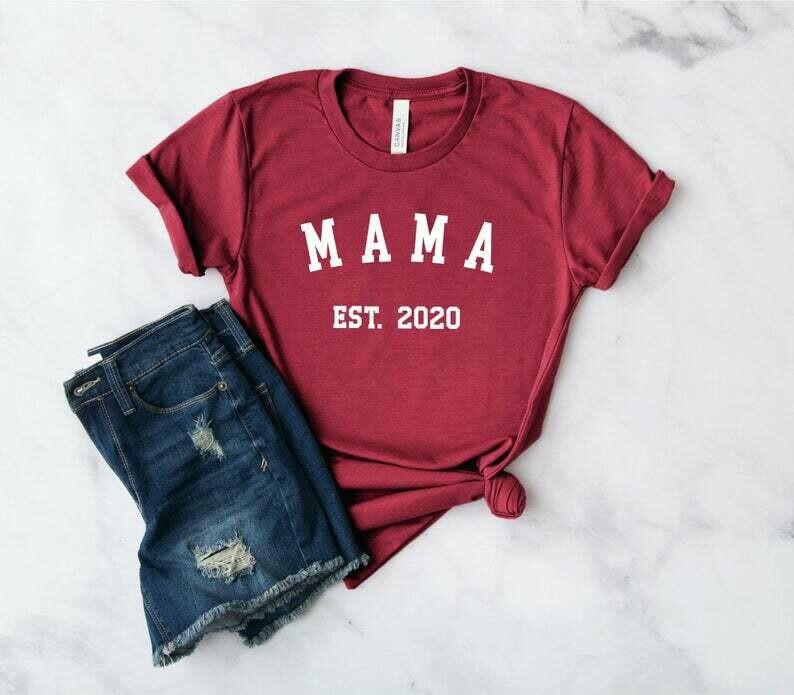Mama Shirt | New Mom Shirt - Baby Shower Shirt - Mom Shirt - Mama Shirt - Mother's Day Shirt - Blessed Mama
