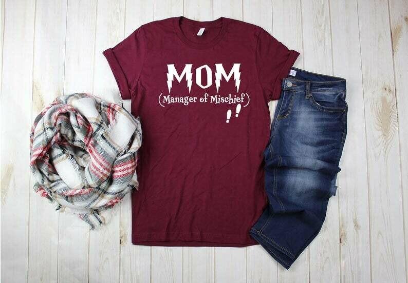 Harry Potter Inspired Shirt, Wizard Shirt, Universal Shirts, Hallows Tshirt, Potter Womens Shirt, Mothers Day Shirt, Mom Gift, Mother's Day