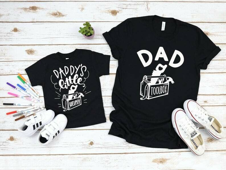 Daddy and Me Shirts Dad and Son Shirts Dad Shirt Funny Dad Shirts Matching Dad and Baby Shirts Father Daughter Shirt Father Son Shirts