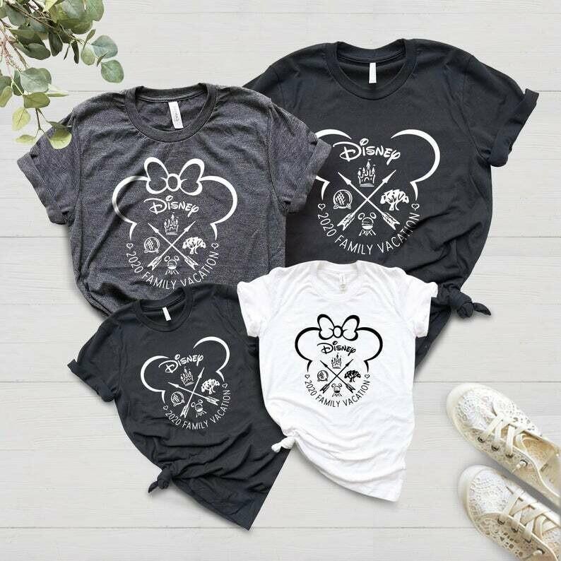 Matching Disney T-shirts | Disney Shirts for Family | 2020 Disney Vacation Shirts | Matching Family Disney Shirts | Disney Shirts for Women