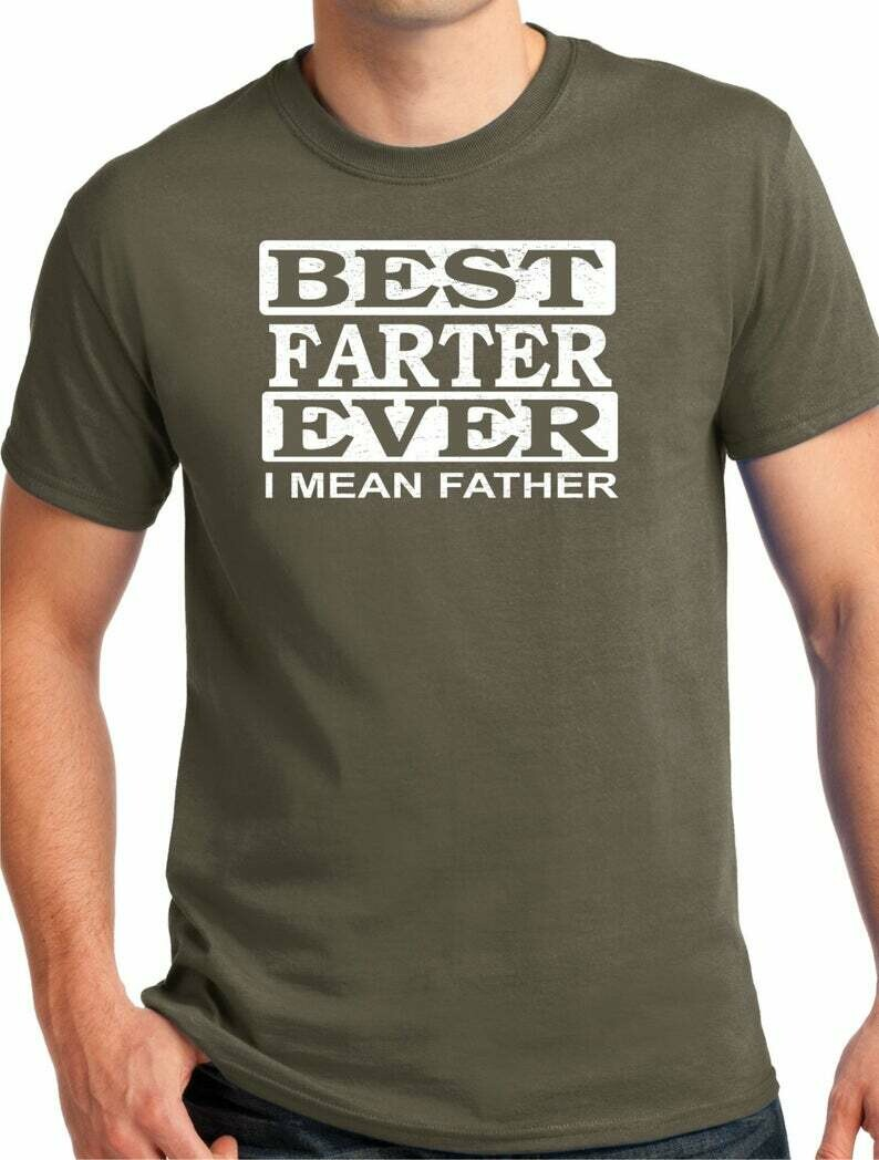 Best Farter Fathers Day gift, T shirt, T shirt for Dad, Funny dad, Awesome Dad, Funny T shirt, Gift for papa, Fathers day