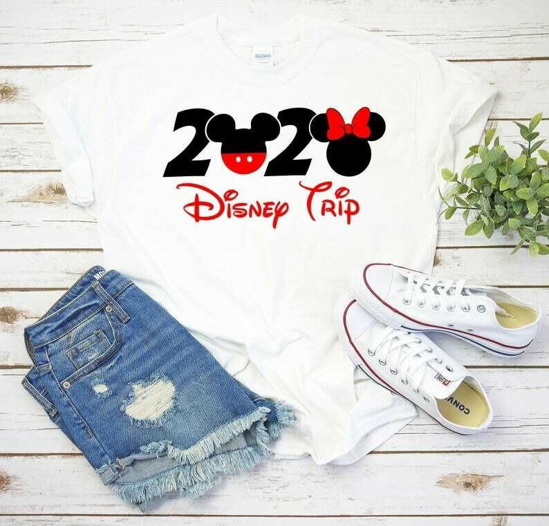 DISNEY Vacation Family Shirts, Disney Trip,Disney Custom Shirts, Matching Disney Family Shirts 2020, T-shirts Disney Vacation