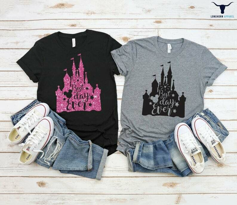 Best Day Ever Shirt, Disney Shirts, Disney shirts for Women, Disney Fan Shirt, Unisex Shirts, Disney Trip Shirts