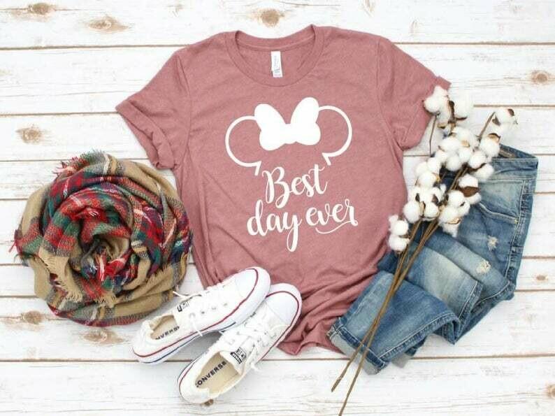 Best Day Ever, Disney Shirts, Disney Minnie Mickey Shirts, Disney Family Shirts, Family Trip Matching Outfit, Custom Shirt, Disney Family