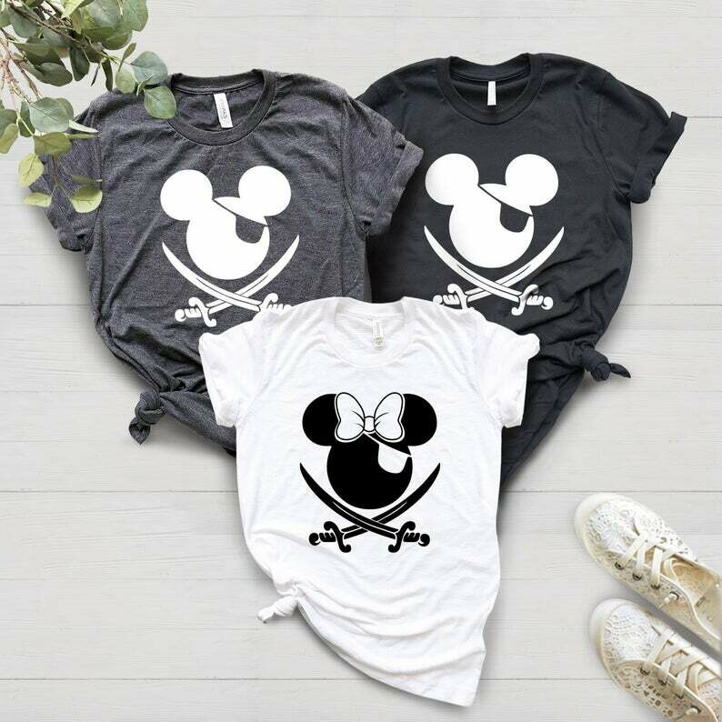 Disney Shirts, Disney Cruise Shirts, Disney Pirate Shirts, Disney Family Shirts, Disney World Shirts, Mickey Pirate Shirts, Disney Vacation